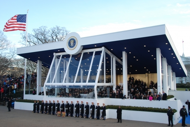 2013 Presidential Inaugural Stand on Inauguration Day