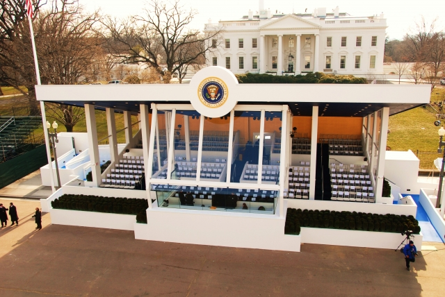 2009 Presidential Inaugural Reviewing Stand